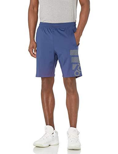 adidas - Pantalón Corto para Hombre, 4krft Sport Graphic Insignia Corta del Deporte, Hombre, Color Índigo, tamaño Medium