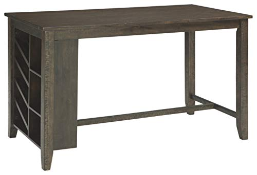 Caitbrook Rectangular Dining Room Counter Table Dark Gray - Signature Design by Ashley
