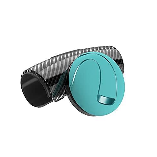 QSCTYG Pomo Volante Coche Coche 360 Grados Volante Rueda Booster Spinner Perilla Manija de Potencia Bola Auto Volante Manija Diferencia Bola de Ayuda Pomo para Volante 299 (Color : Blue)