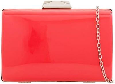 Girly Handbags glatter harter Fall Clutch-Bag