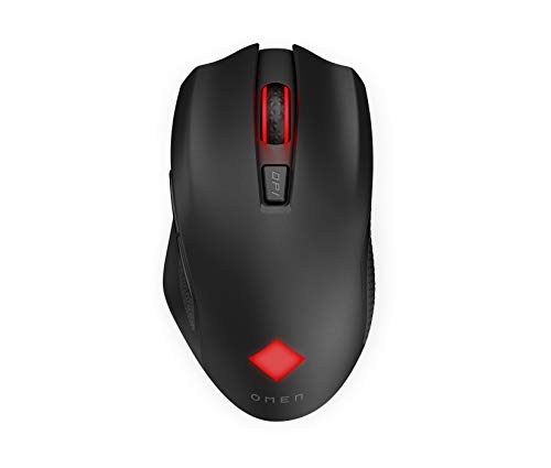 OMEN Vector Wireless Mouse | Gaming Mouse with Warp Wireless Technology and Ultra-Fast USB-C Charging | Mouse with Esports Grade Sensor and Ergonomic Design | DPI Range 100-16,000 | (2B349AA)