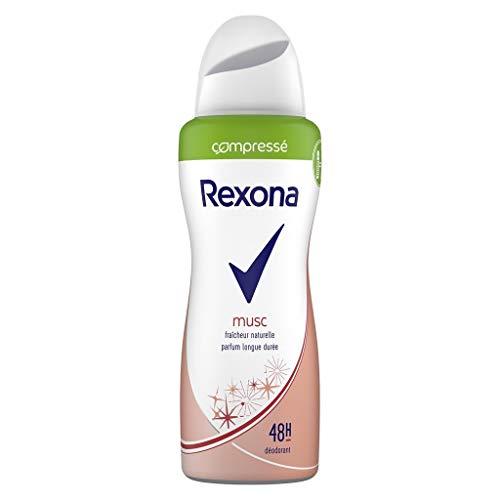 Rexona © Compressa Musk Parfüm Natur Frische Lange Dura © Ã © Smelly E 48H 100Ml (Satz 4) 1