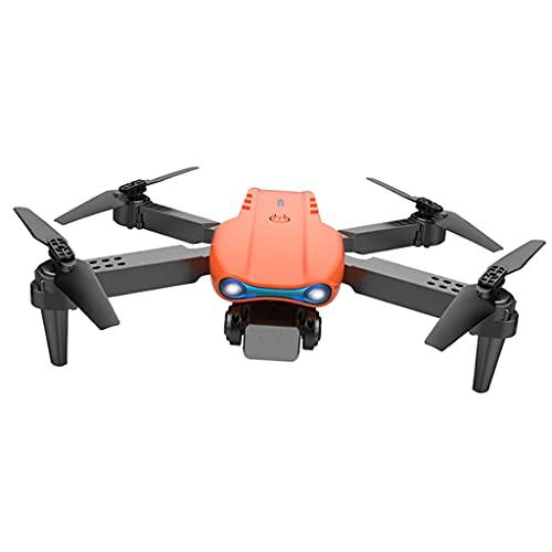 perfeclan WiFi App Control 2.4G RC FPV Drone Real-Time 3D Flip Gesto Fotografia LED Lights Quadricottero Telecomando per Bambini Principianti Giocattoli - Nessuna Macchina Fotografica Arancione