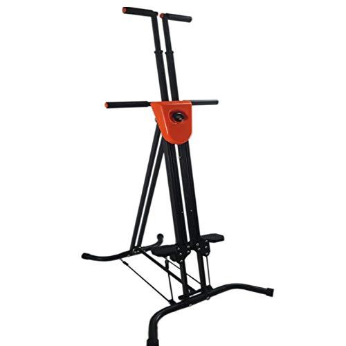 KHXJYC Vertikale Klettermaschine Indoor-SportgeräTe, Vertikale Klettermaschine Bauchbein-TrainingsgeräT, Einstellbare HöHe, FüR Herztraining