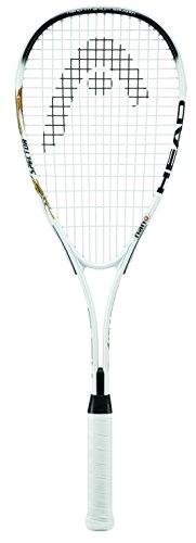 Head Nano Ti Spector 2.0 - Raqueta de Squash, Color Blanco y Negro