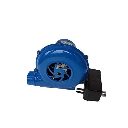 Ventilador Eléctrico, Ventilador De Barbacoa con Abrazadera De Batería De 12 V Salvaje para Barbacoa Al Aire Libre Ventilador De Combustión para Cocinar,80W