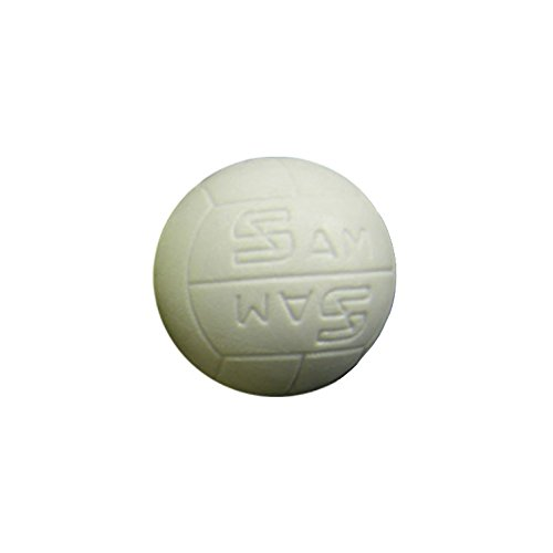 Bola futbolin balon blanca 33mm 18gr