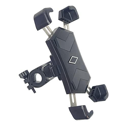 """Porta Cellulare Moto,Metallico Porta Cellulare Bici,Rotazione a 360°,Adatto per iPhone, Samsung e altri 4.5"""" a 7.2"""" Smartphone"""