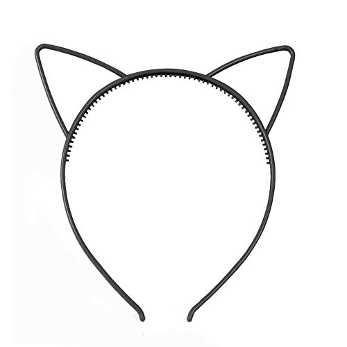 Dontdo 3 pcs Cute Plastical Cat Hoop Cheveux Bandeau pour fille Cadeau