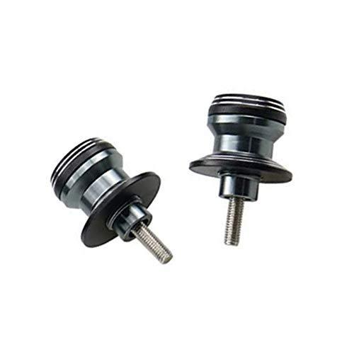 Brazo oscilante universal de aluminio CNC de 6 mm, 8 mm, 10 mm, para Honda Kawasaki, Suzuki, Yamaha Bobbin (8 mm, titanio)