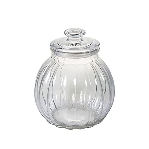 Augu Tarro De Cristal Sellado De Calabaza, Botella De Vidrio En Escabeche,...