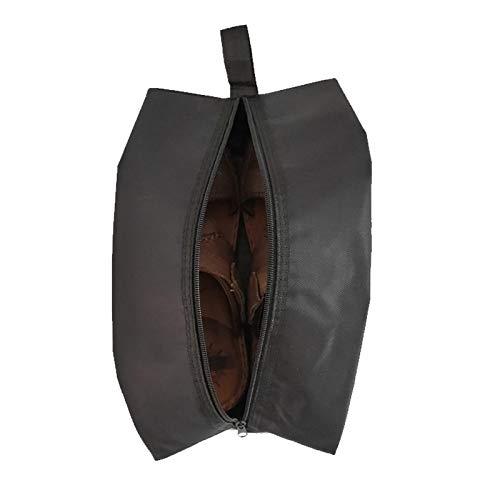 Bolsas de zapatos impermeables para viajes, bolsa de zapatos portátil para organizador de almacenamiento de zapatos
