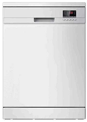 LINKË LKLV12W - Lave-vaisselle Pose libre - Classe énergétique A++ - Affichage électronique Volume sonore : 47 dB(A) - Départ différé : 1-24 h Programme Eco - Sécurité aquastop - Blanc