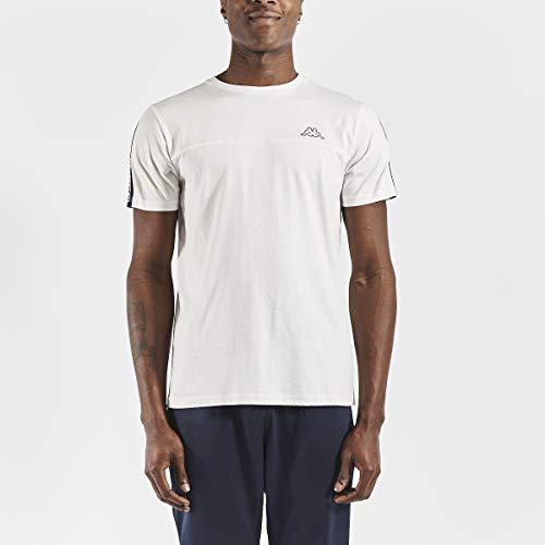 Kappa Uomo ITAP T-Shirt, Blanco, M