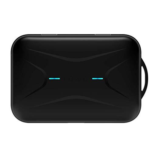 Divacore DVC4016B Nomad + Écouteurs Bluetooth 5.0 avec Batterie de Secours et Microphone Noir