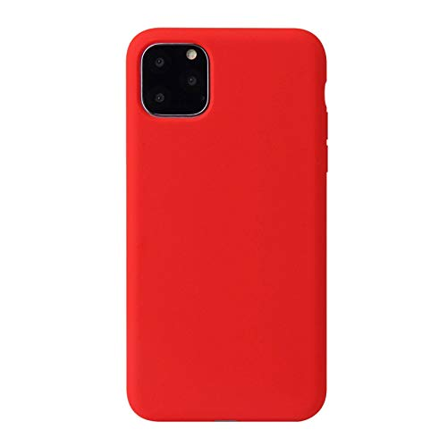 N-B Funda Protectora para teléfono móvil, Funda Protectora de Silicona líquida para teléfono móvil iPhone 12, Funda Protectora Suave para Apple 11 Pro MAX Se 2020