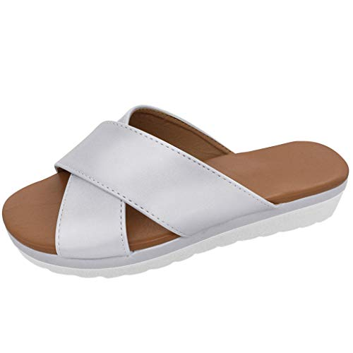 Discover Bargain Summer Flat,Womens Fashion Flats Flip Flops Shoes Ladies Retro Slippers Beach Roman...