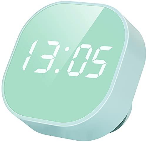 Digital Alarm Clock, Multi-Functional Magnetic LED Smart Sensor Cute Alarm Clock for Kids, Dual Alarm Temperature Countdown Timer, Compact Clock for Desk Bedroom Kitchen Gifts for Kids