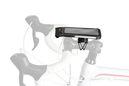 Zéfal Dry Console Support Téléphone Vélo Etanche - Housse universelle + Z Bike Mount Support Smartphone Vélo / Moto Guidon - Version L jusqu'à 6,7 pouces