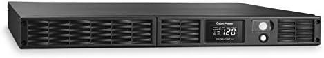 CyberPower PR750LCDRT1U Smart App Sinewave UPS System 750VA 600W 7 Outlets AVR 1U Rack Tower product image