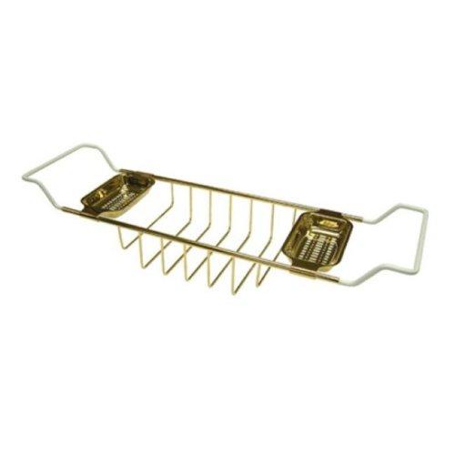 Kingston Brass CC2152 Claw Foot Bath Tub Shelf, Polished Brass
