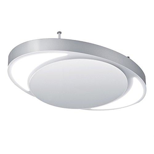 Bielmeier V875130 Inselhaube / 100 cm/Randabsaugung/silber/weiß