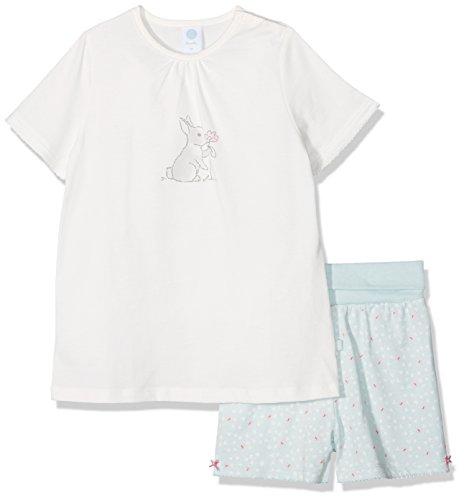 Sanetta Sanetta Baby-Mädchen 221372 Zweiteiliger Schlafanzug, Beige (Broken White 1427), 74