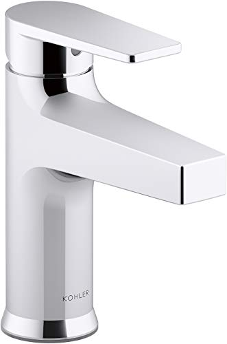 Kohler K-74013-4-CP Taut Bathroom Sink Faucets, Single Control, Polished Chrome