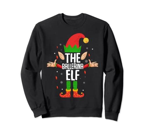 El elfo de la bailarina - Disfraz de Navidad para ballet Sudadera