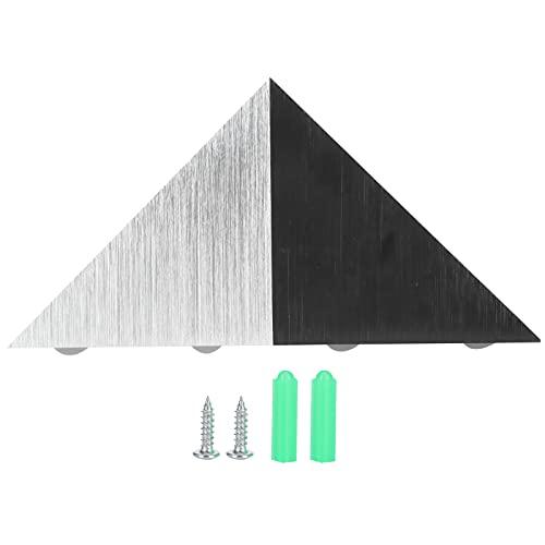 Lumière triangulaire, lampe triangulaire applique murale d'angle applique murale extérieure pour bureau pour chambre à coucher pour bar pour KTV
