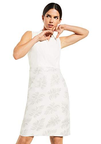 comma Damen 8T.004.82.5387 Kleid für besondere Anlässe, 90U4 Jacquard Flower, 44