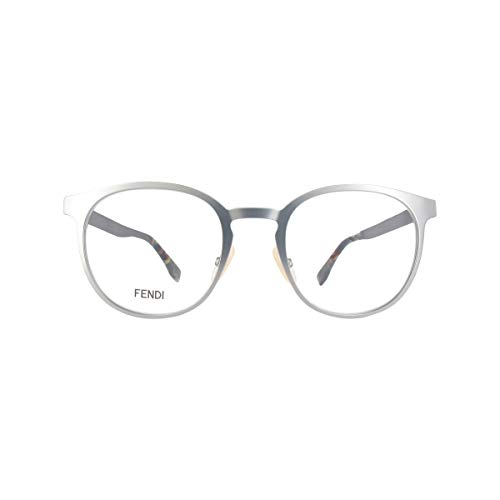 FENDI FF M0009 R81 50 Gafas de sol, Gris (Smtt Ruthen), Hombre