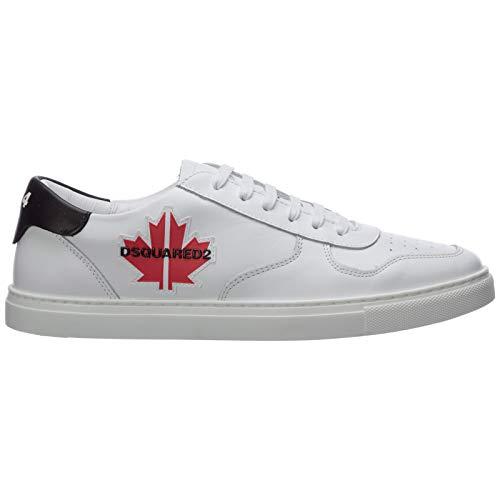 Dsquared2 Hombre Maple Zapatillas Bianco 44 EU