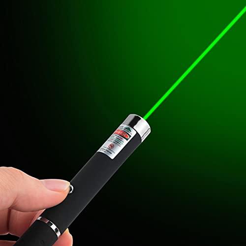 Demostrador de enseñanza de haz visible pluma de luz fuerte pluma estilográfica 5MW juguete para mascotas de alta potencia adecuado para acampar, regalar, senderismo USB verde