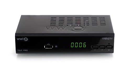 WWIO TRINITY T2/C PRO  DVB-T/T2/C HD Kombi Receiver
