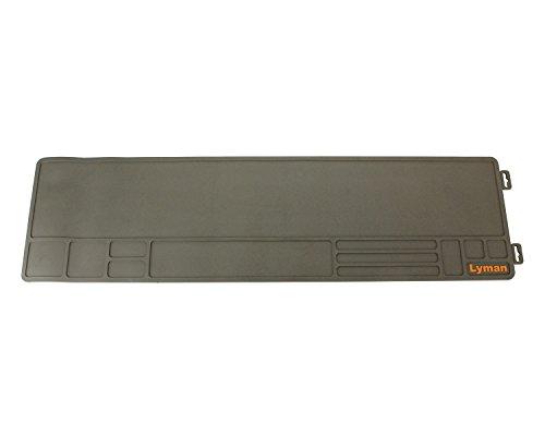 Lyman Essential Heavy Duty Gun Cleaning, Maintenance Mat 10 x 36 , Black