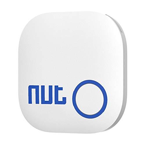 DDyna para NUT2 Smart Tag Tile Tracker Buscador de Llaves Localizador para Llave Anti Lost Found Alarm para Seguridad - Blanco