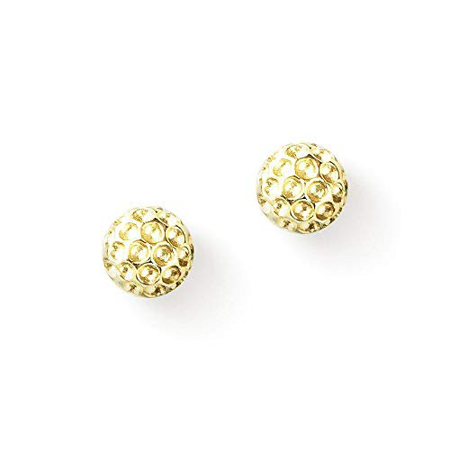 Chelsea Charles Golf Goddess Golf Ball Earrings