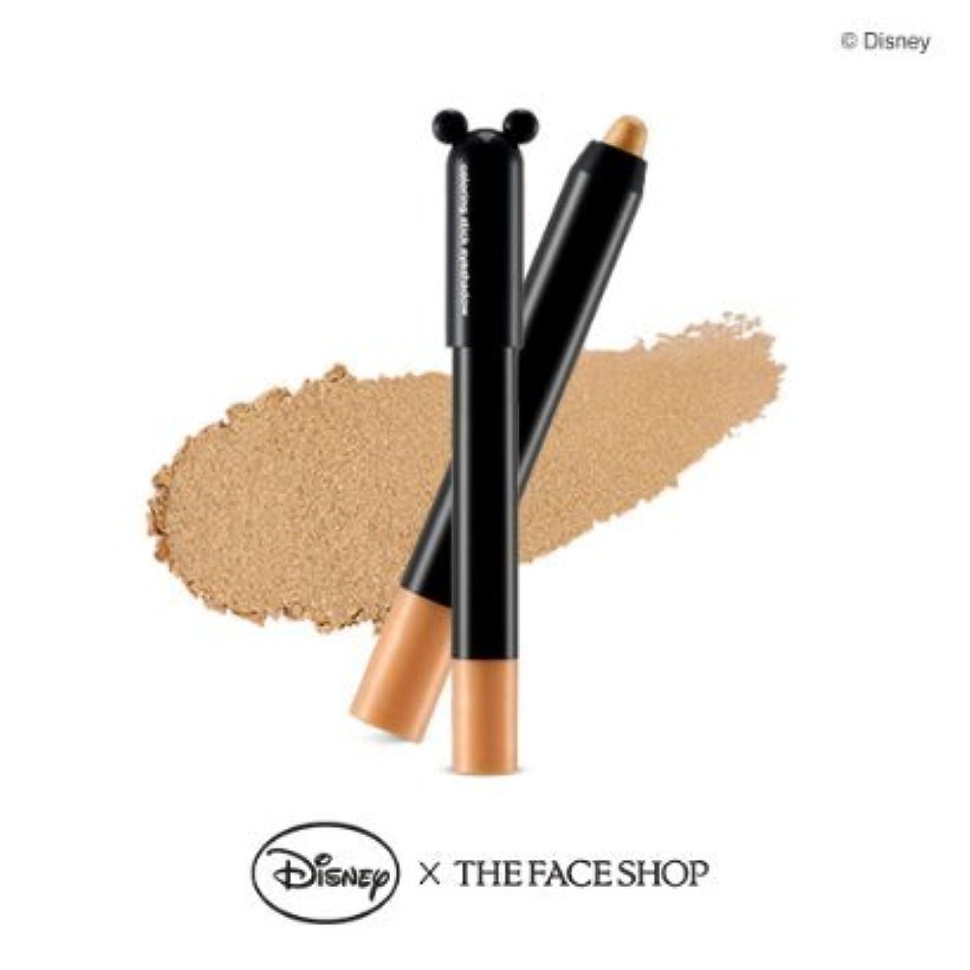 高速道路砂漠腐敗した[1+1] THE FACE SHOP Coloring Stick Shadow [04. Gold] ザフェイスショップ カラーリングスティックシャドウ [04. ゴールド] [並行輸入品]