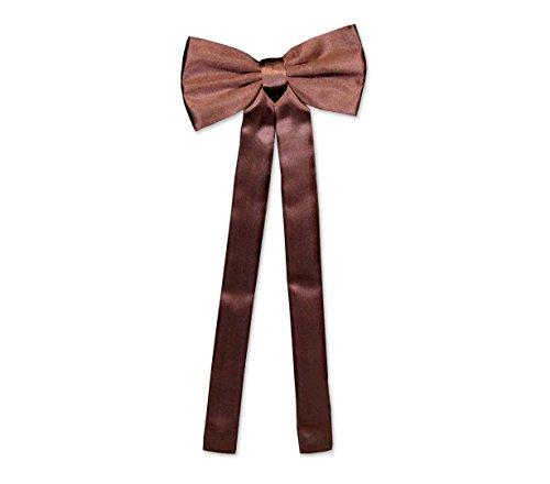 Old Style Western Schleifenkrawatte braun Vintage Fliege Oldstyle Westernkleidung Westernbekleidung Braun