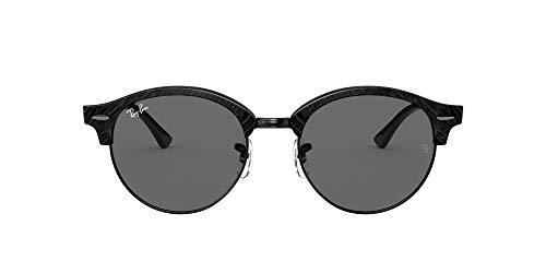 Ray-Ban 0RB4246 Gafas, Wrinkled Black ON Black, 51 Unisex