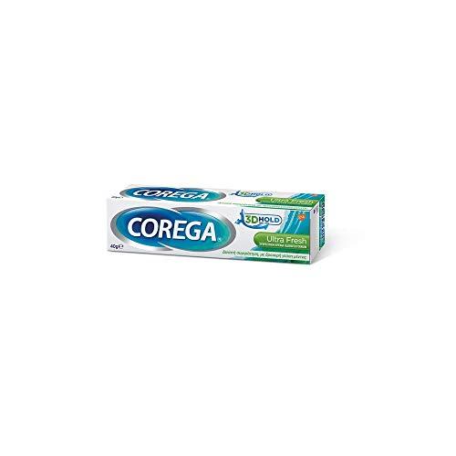 Corega 3D Hold Ultra Fresh Denture Fixative Cream 40g