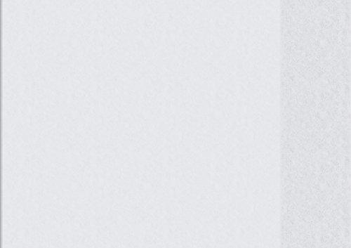 Brunnen 1040503 Heftumschlag (A5 quer, Folie, transparent, mit Namensschild in der Einstecktasche)