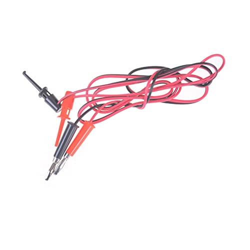 Línea de prueba 4 unids/lote 4 mm 3A Equipo multiusuario Equipo de Equipo de Equipo de Linterna Enchufe para probar Hook Clip Probe Probe Placa Cable de alambre para Multímetro Digital Prueba de enl