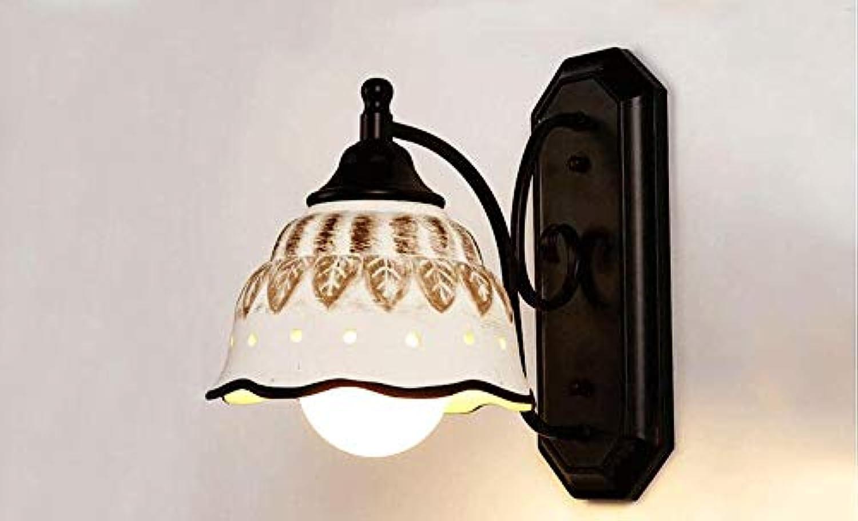Balkon gang Flur Wandleuchte Halle pastorale Schlafzimmer Nachttischlampe Wandleuchte