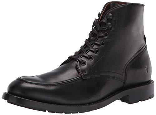 Frye Men's Bowery Moc Lace Up Combat Boot, Black, 9.5 Medium US