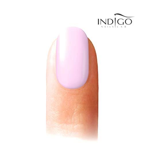 Indigo Mineral Base Indigo Gel-Nagellack, Indigo, Mineralbasis, 7 ml (Porzellan)