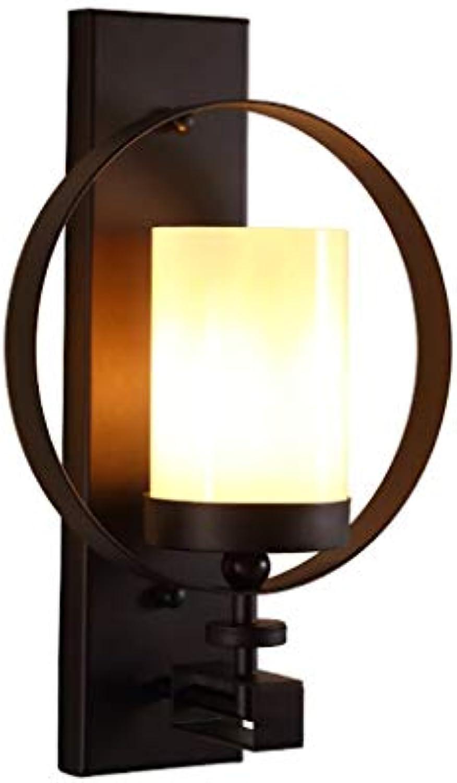 XH shop Eisen wandleuchte retro wohnzimmer wanddekoration lampen einzigen kopf kreative persnlichkeit korridor balkon ganglichter