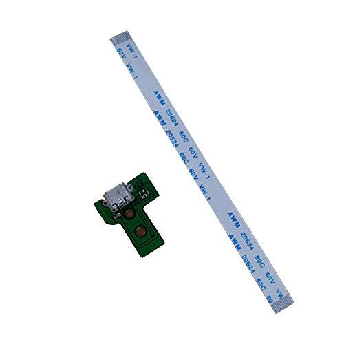 CXZC JDS-030 Reemplazo del Puerto de Carga USB Socket Board para PS4...