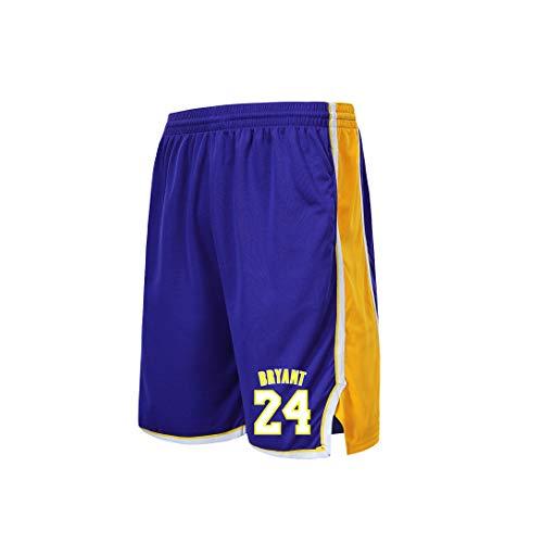GBYN - Basketball-Bekleidungssets für Herren in Purple, Größe Small